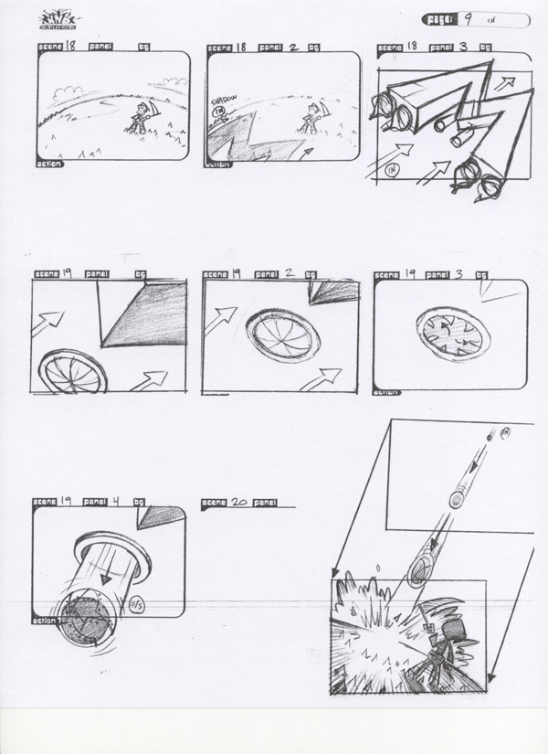 Kids NExt door Storyboard pg9
