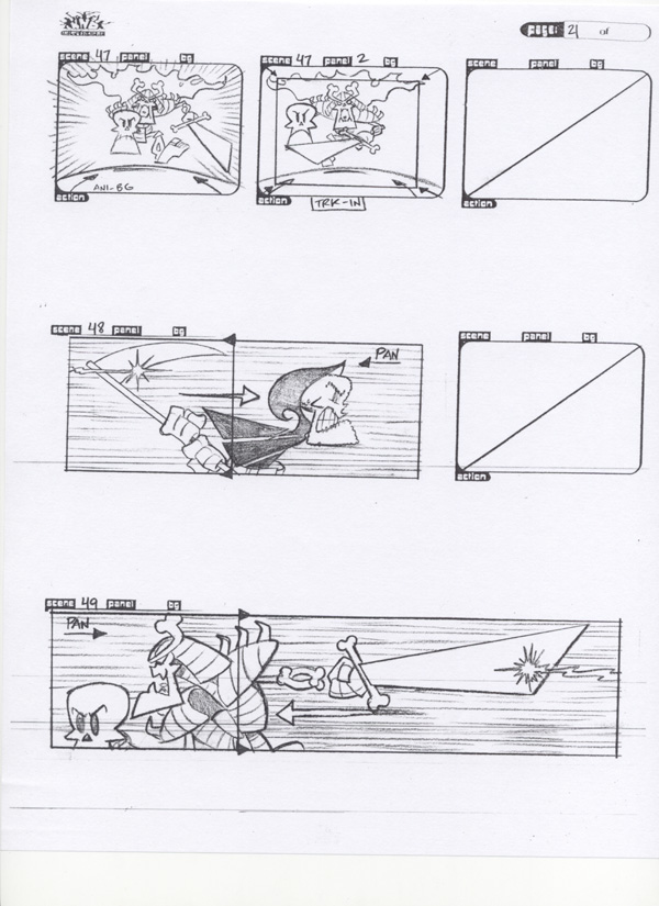 Kids NExt door Storyboard pg 21